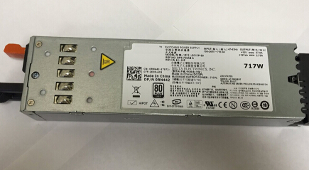 717W For Dell PowerEdge R610 Power Supply 0RN442 D717P-S0 DPS-764AB