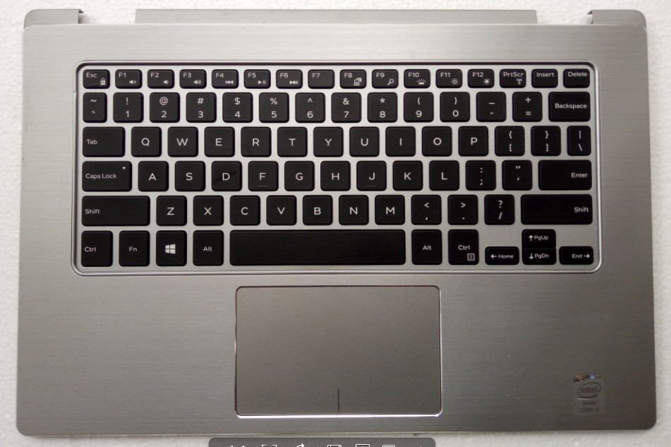 For Dell Inspiron 13 7352 Palmrest Touchpad Keyboard